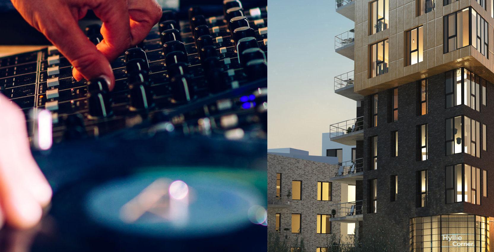 Premiär för Hyllie Corners showroom – Midroc utvecklar framtidens bostäder
